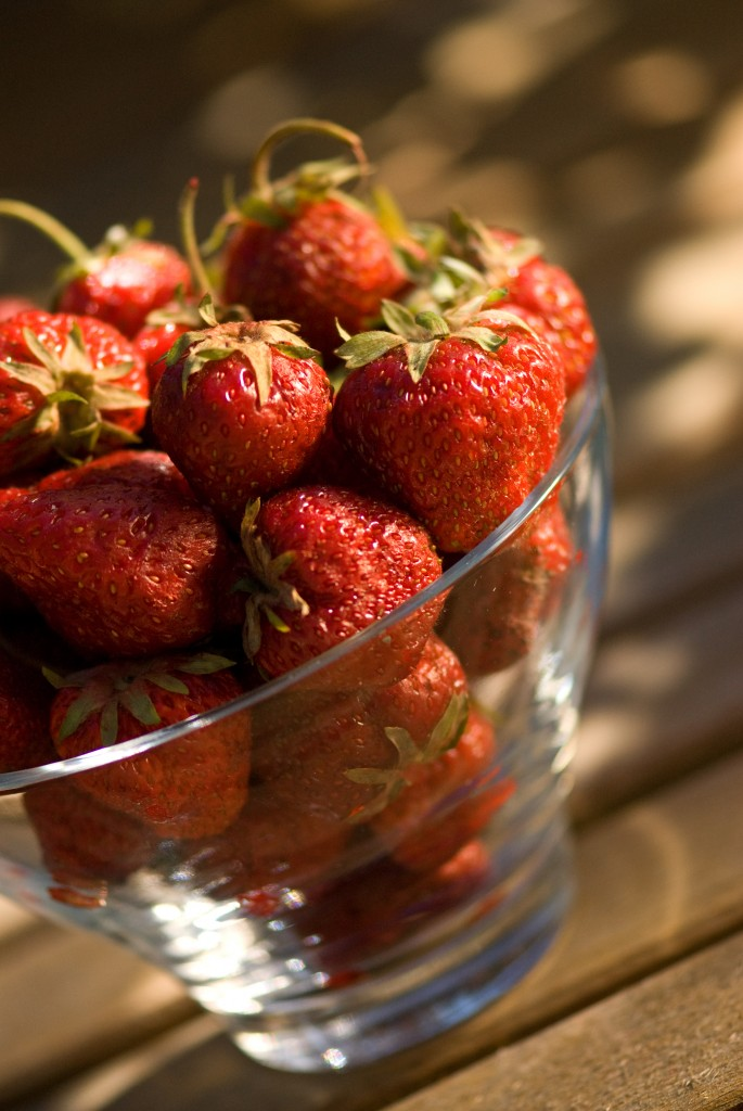 Wilds Strawberries in bowl